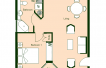 Floor Plan 2 Bedroom Layout 2